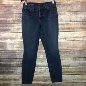 NYDJ Alina legging jeans mid rise stretch jegging